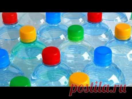 Идеи Поделок из Пластиковых Бутылок&Крышек Своими Руками Дома DIY/чем заняться скучно каникулы🐷
