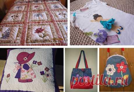 Курс бесплатно Приложения на ткани | DIY - PatronesMil