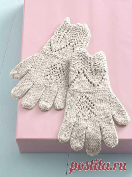 Перчатки спицами. Atelier Gloves by Tanis Gray.