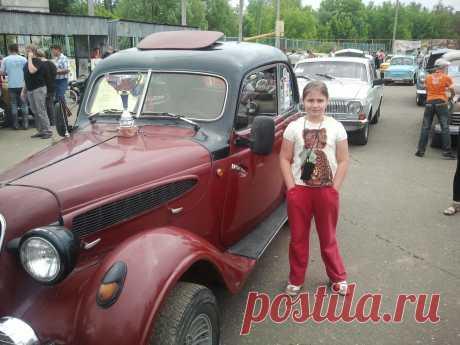 Ну нравятся нам с дочей ретро авто))))))))))))