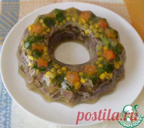 Заливное из куриных желудков – кулинарный рецепт