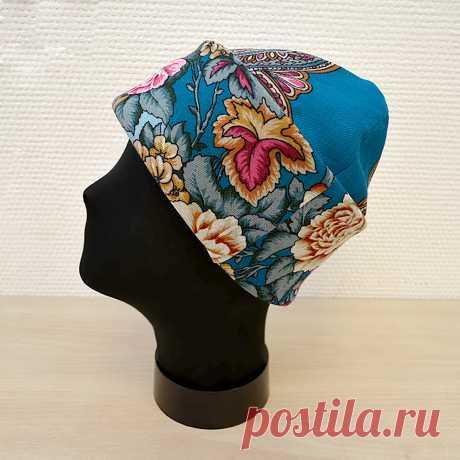 Шьем шапку и палантин из павловопосадского платка / Мастер-классы / Burdastyle