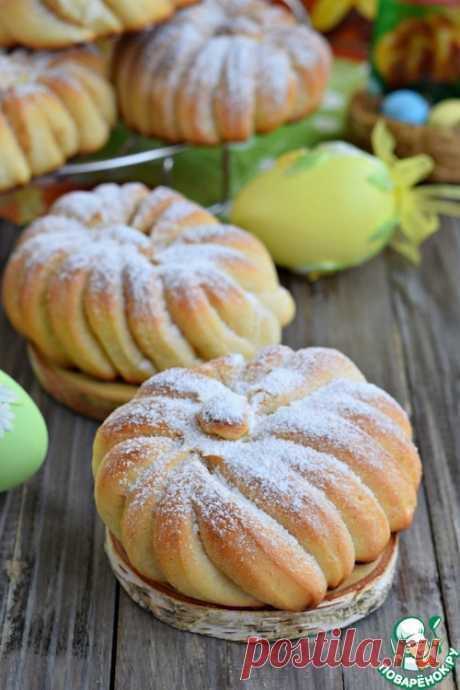 Сдобные булочки с сахаром и корицей – кулинарный рецепт