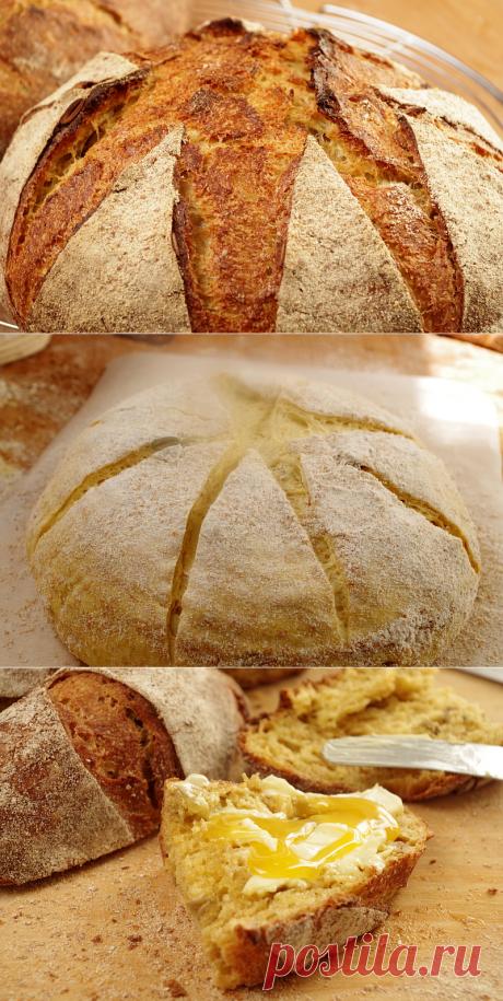 Морковный хлеб на закваске