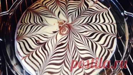 Как испечь пирог Зебра. Кекс быстро и вкусно. Zebra Kek Tarifi