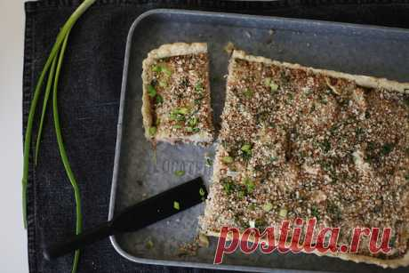 Пирог с копченым лососем - Чадейка