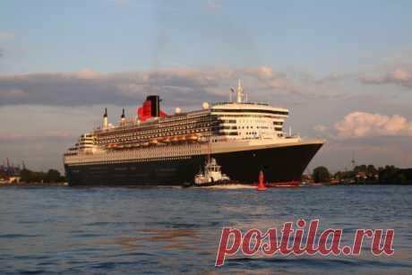 Крупнейшие пассажирские корабли в мире
