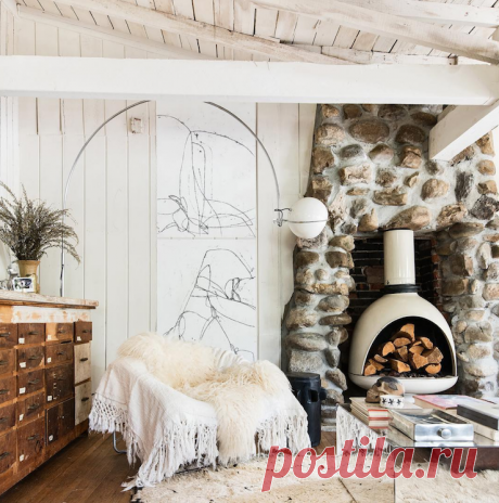 my scandinavian home: Leanne Ford's Dreamy Woodsy Cabin in Echo Park
