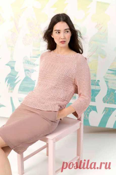 Пуловер из коллекции Lang Yarns