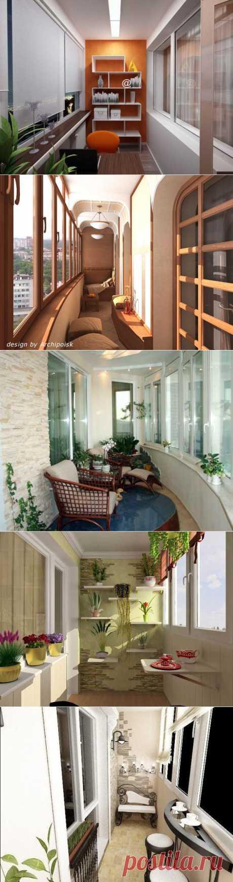 Создаём красоту на балконе   Домохозяйки