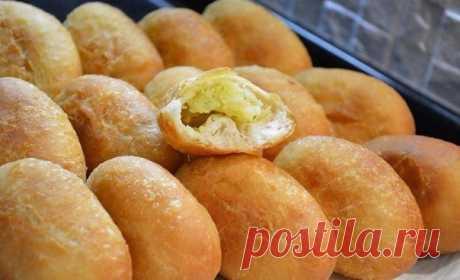 Тесто для жареных пирожков/беляшей — Sloosh – кулинарные рецепты