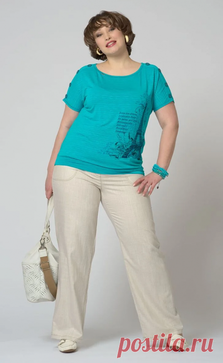 Как создать красивый, летний образ с брюками: Удобные фасоны для полных женщин | Школа стиля 50+ | Яндекс Дзен
