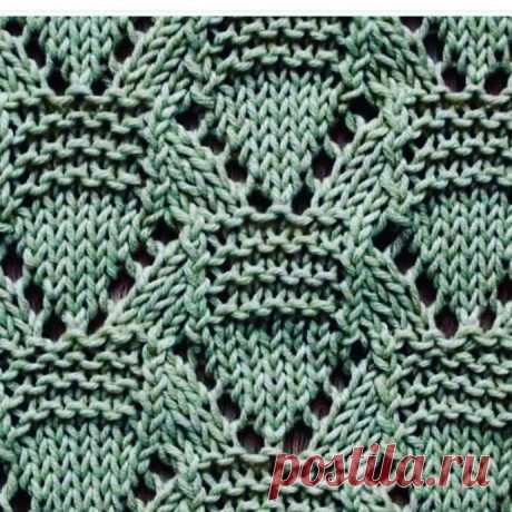 Подборка узоров спицами. Схемы вязания