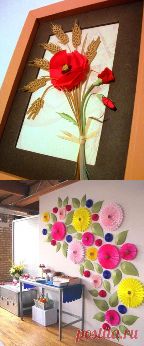 Цветы своим руками - как сделать искусственные цветы дома на сайте ДомСтрой