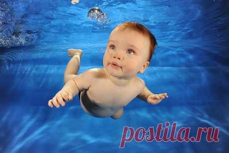 Зачем малышу бассейн?
