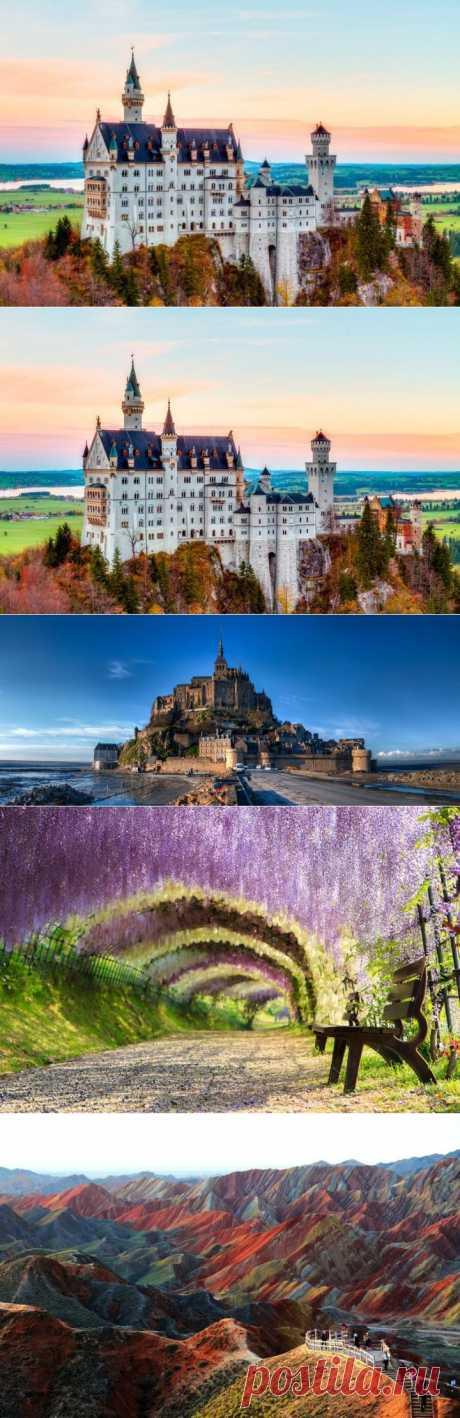 (+1) тема - 20 реальных мест, которые выглядят словно вышли из сказок | Среда обитания