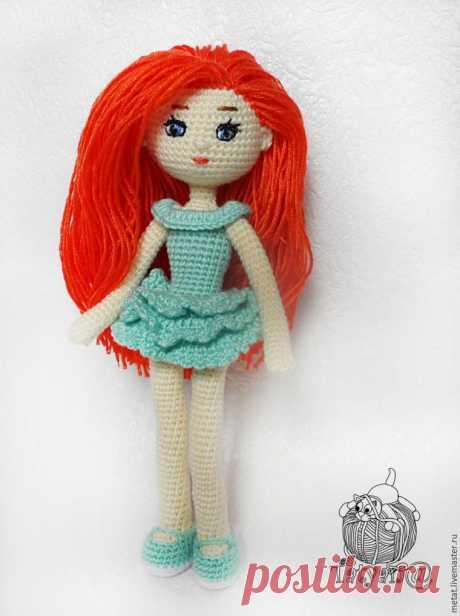 Вяжем крючком куклу «Адель» - Ярмарка Мастеров - ручная работа, handmade