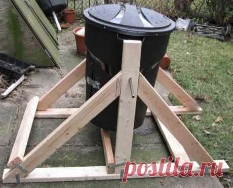 Самодельный компостер, который быстро превращает отходы в компост