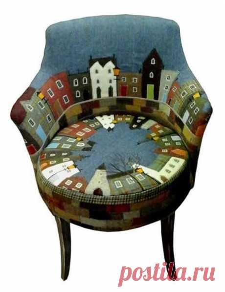 Забавная коллекция стульев