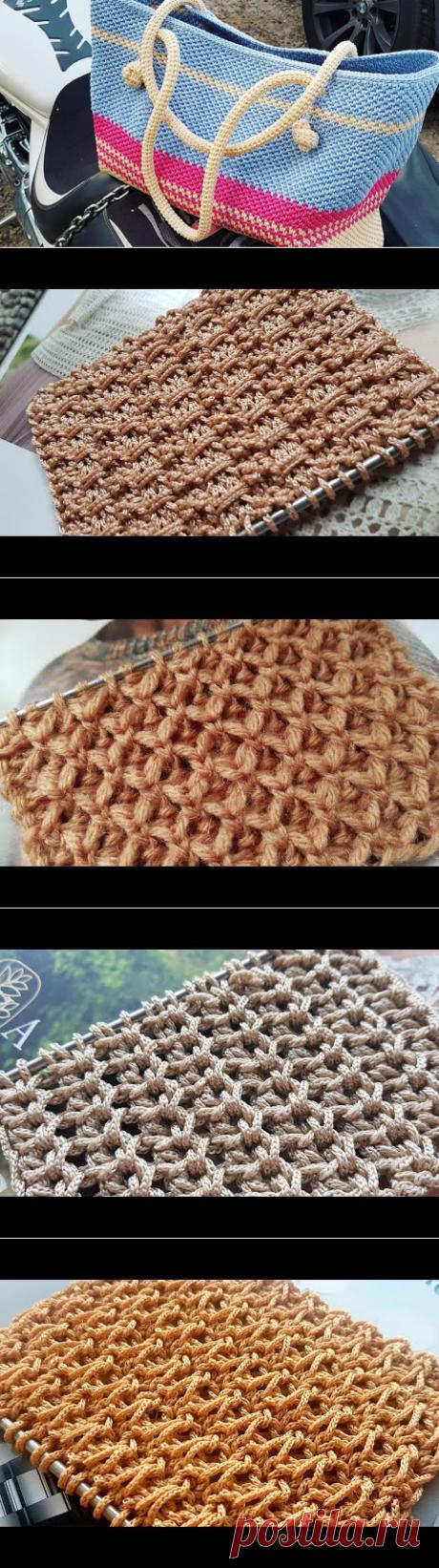 Стильно вяжем и рукоделим. Knitting. Crochet. Asha - YouTube