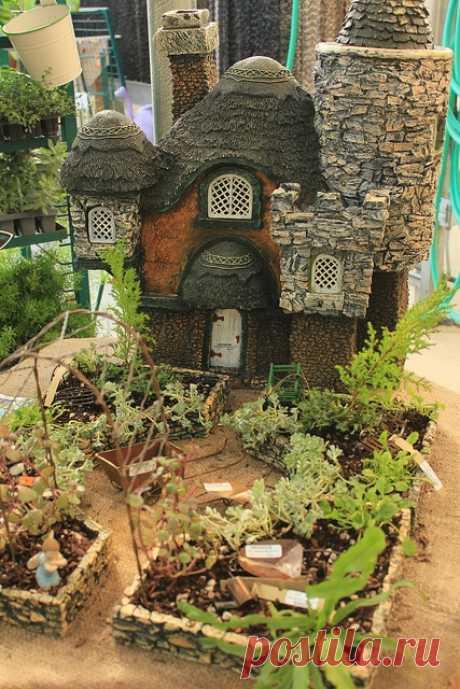 Сказочные домики для сада — Делаем руками