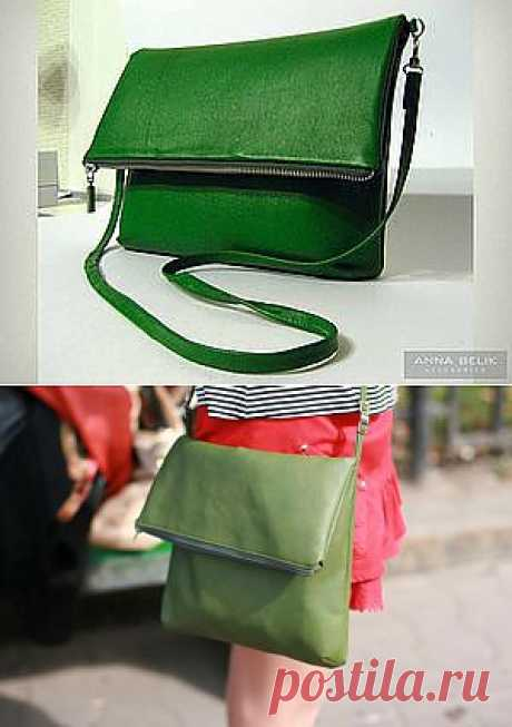 сумка-клатч из кожи. от лекала до пошива - Ярмарка Мастеров - ручная работа, handmade