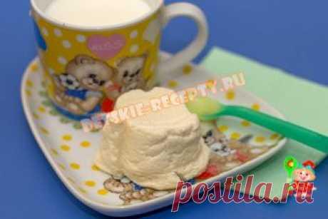 Творожный пудинг в мультиварке на пару - фото рецепт для детей   ДЕТСКИЕ РЕЦЕПТЫ, БЛЮДА