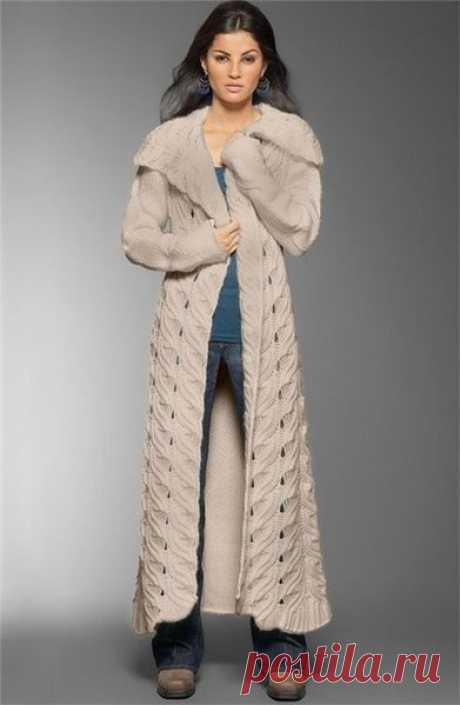 knitted coats, cardigans   Records in a heading knitted coats, cardigans   Fashionable models for knitting on MSLANAVI_COM