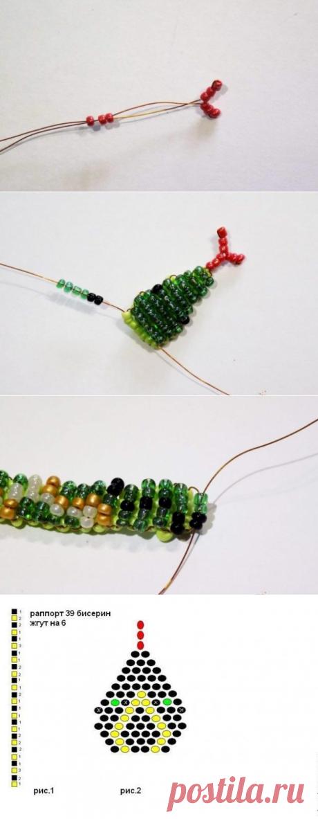Змея из бисера: как сделать? Схемы и фото | Domigolki.ru