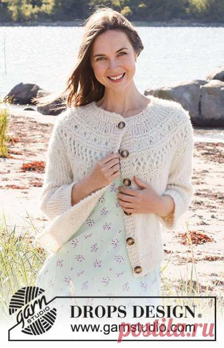 Жакет Way to Happiness - блог экспертов интернет-магазина пряжи 5motkov.ru