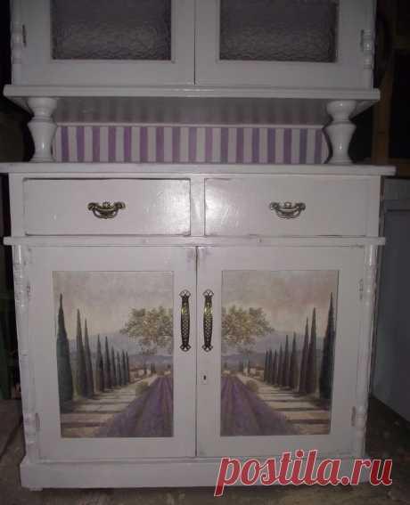 Старая новая мебель, или чем я занимаюсь на досуге