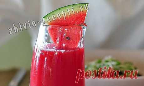Арбузный коктейль | Живые рецепты, сыроедение, здоровье, продукты без тепловой обработки, польза сыроедения