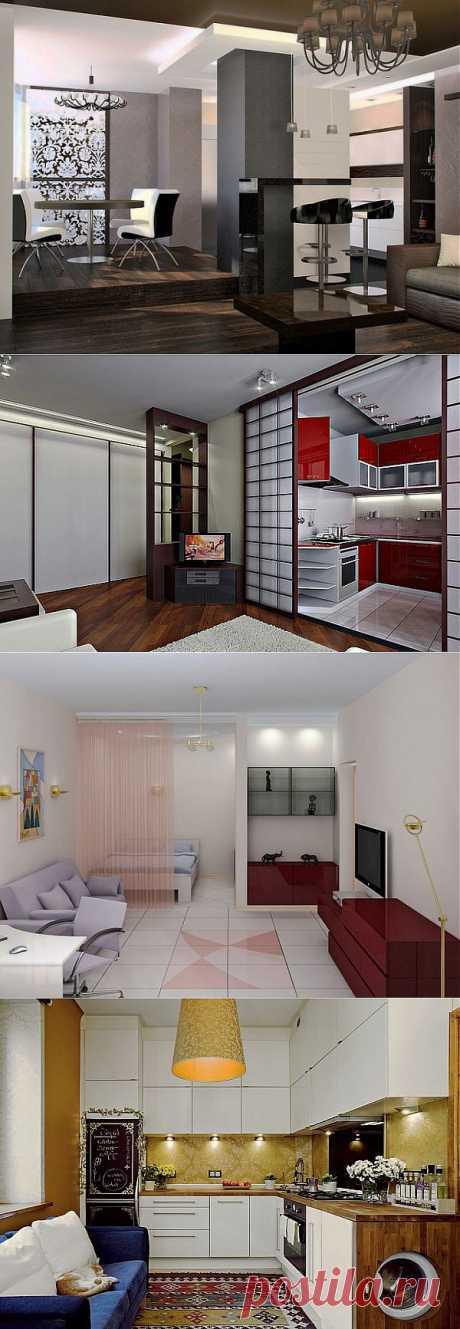 Большие идеи для маленьких квартир | Школа Ремонта