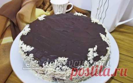 La torta Praga poshagovyy la receta (33 fotos)