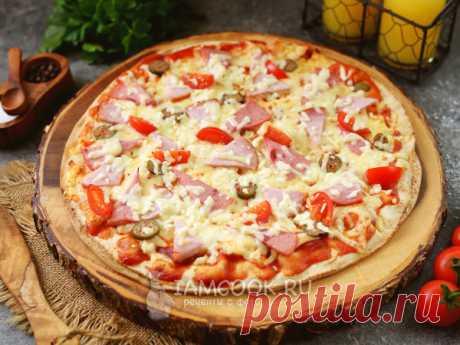 Быстрая пицца — подборка рецептов с фото и видео