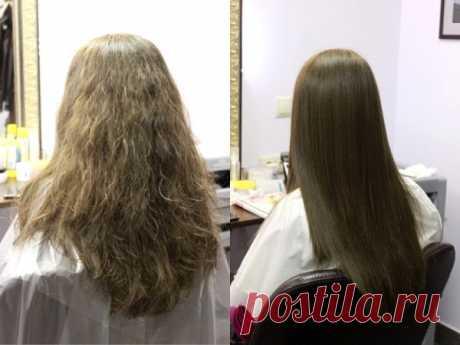 Кератиновое выпрямление волос: видео-инструкция как делать своими руками, особенности нанокератинового, биокератинового метода, как смыть самостоятельно, недостатки, виды, цена, фото