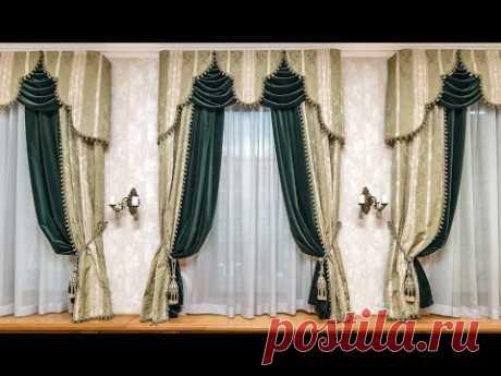 Какие шторы выбрать на узкие окна 50 современных идей