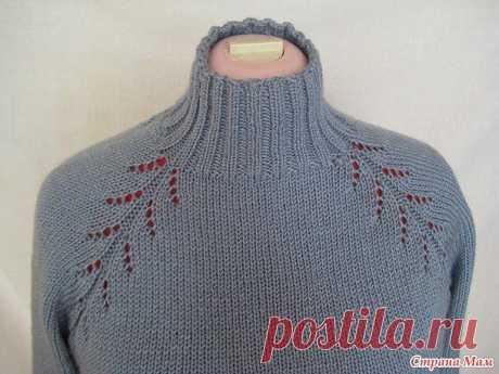 Вязание-спицы >Вязание реглана.