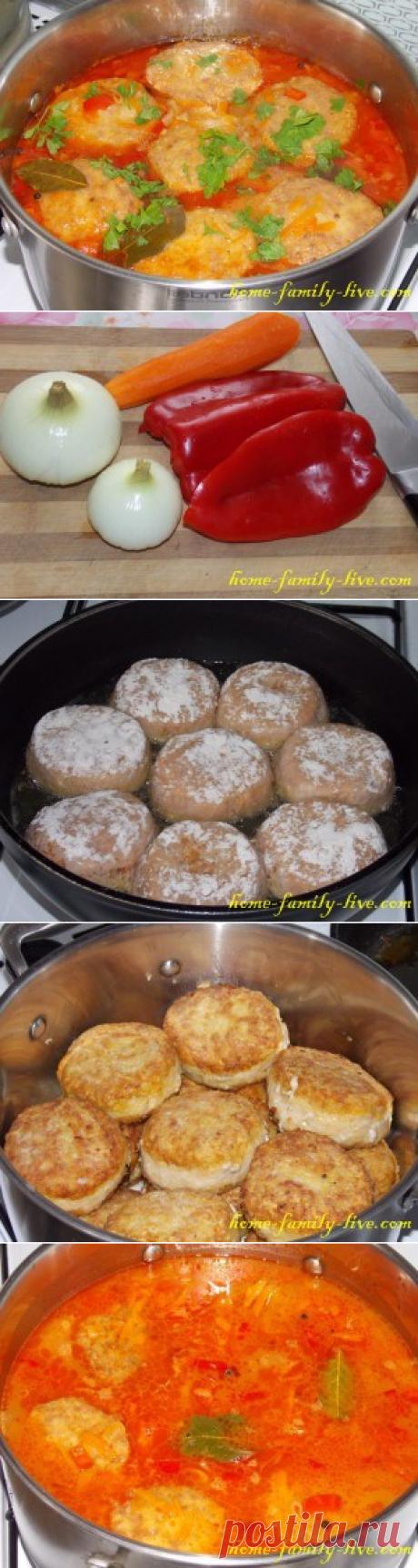 Тефтели/Сайт с пошаговыми рецептами с фото для тех кто любит готовить