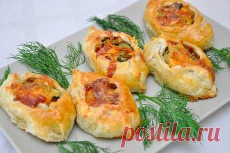 Лодочки из слоёного теста — Sloosh – кулинарные рецепты