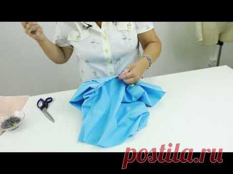 Как сшить юбку брюки или кюлоты своими руками Построение выкройки от юбки четверть солнце Часть 2 - YouTube