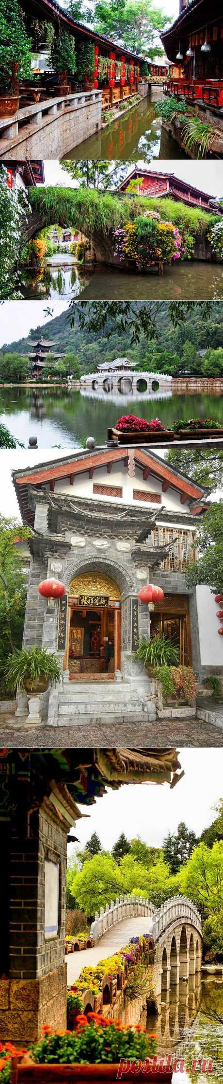 Красивый старый город - Лицзян. Китай | Наш уютный дом