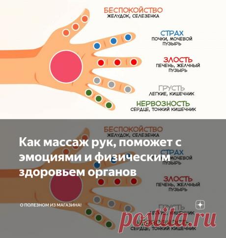 Как мaccaж pук, поможет с эмоциями и физическим здоровьем органов | О полезном из магазина! | Яндекс Дзен