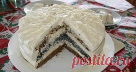 Торт «Три Встречи». Простой, домашний, вкусный!