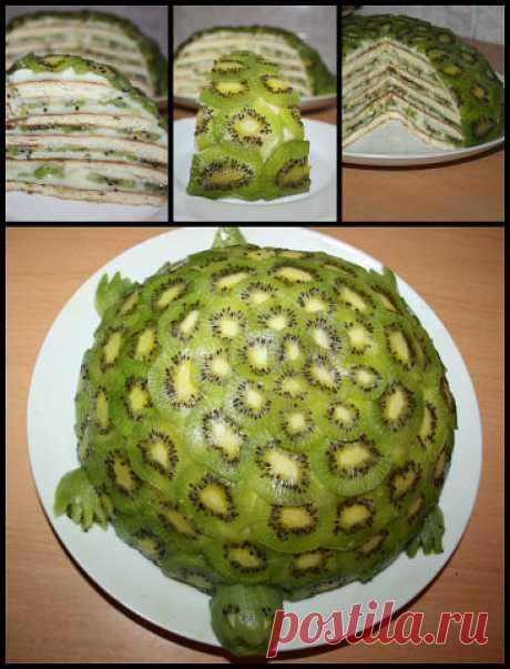 Торт Изумрудная черепаха (на сковороде 15 мин.) | Забава