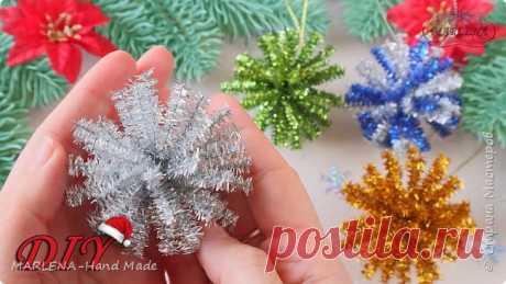 Новогодняя игрушка ЗА 1 МИНУТУ МК/DIY | Страна Мастеров
