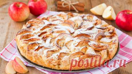 Шарлотка с яблоками в духовке: классическая шарлотка с пошаговыми фото (8 рецептов)