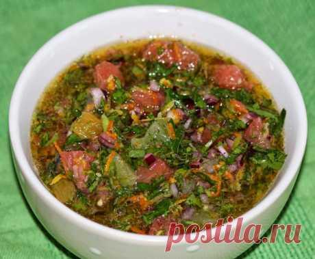 Tsitrusovo - ginger salsa