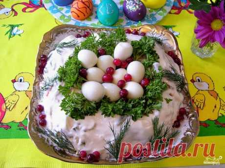 20 салатов - рецепты салатиков на Пасху!