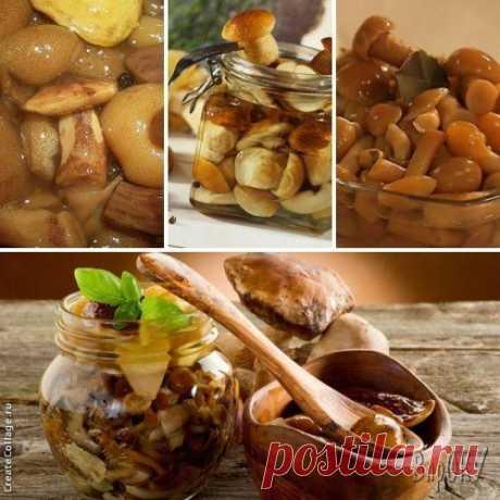 Как приготовить маринованные грибы